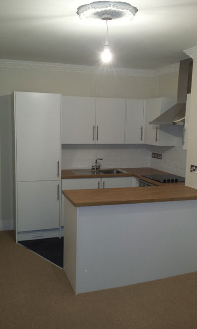 Kitchen in Brunswick Road