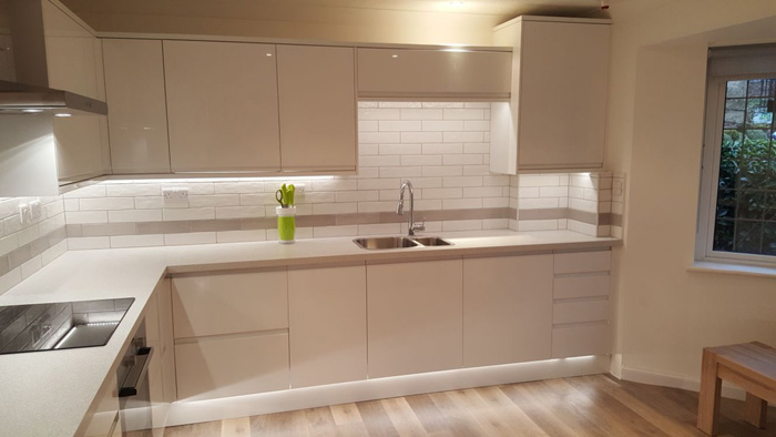 Fitted kitchen in Steyning